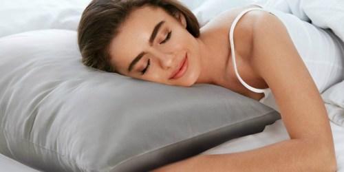Bedsure Satin Pillowcase 2-Pack as Low as $6.73 at Amazon