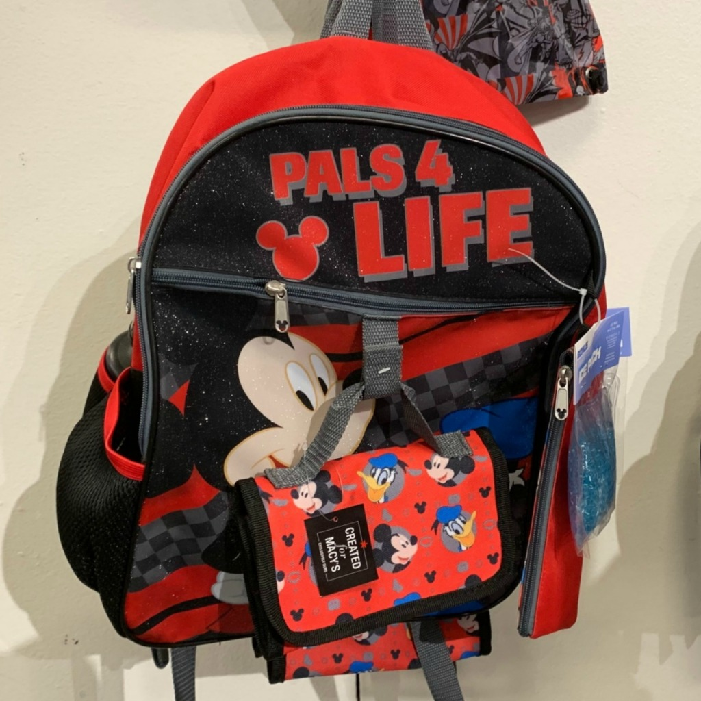 Disney's Mickey Mouse themed backpack