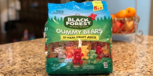 HUGE Black Forest Gummy Bears 6-Pound Bag Only $8.82 Shipped at Amazon