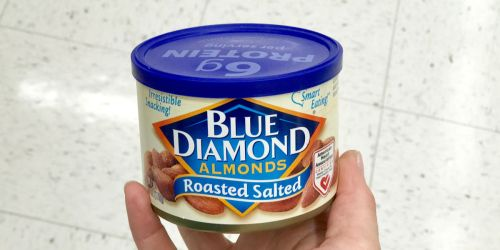 Blue Diamond Almonds 6oz Cans Only $1.75 Each at Walgreens.com