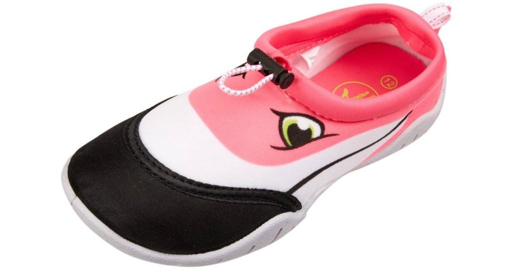 body glove flamingo toddler water shoe