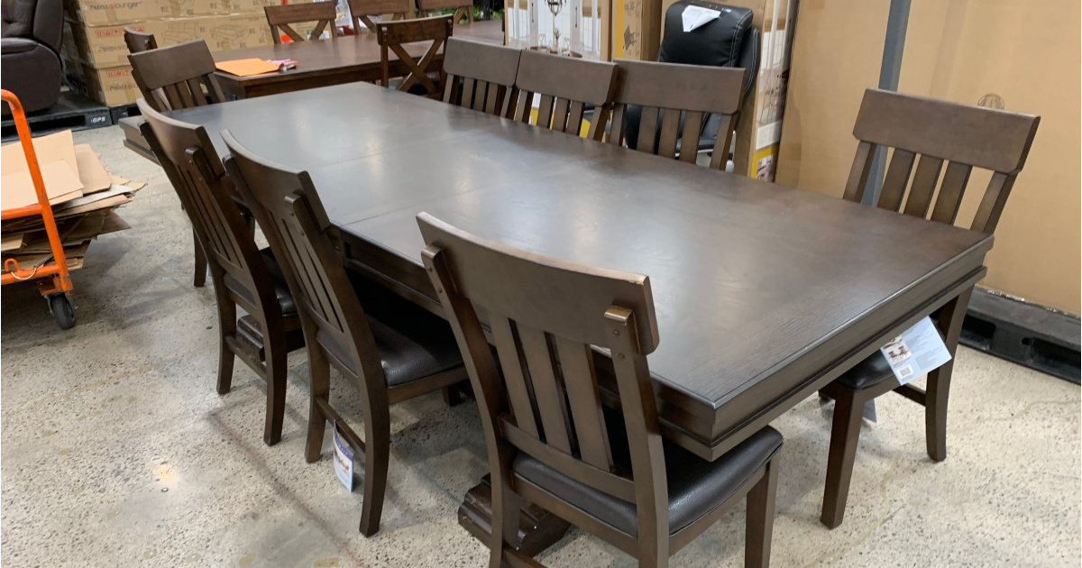 bolton dining table set at costco