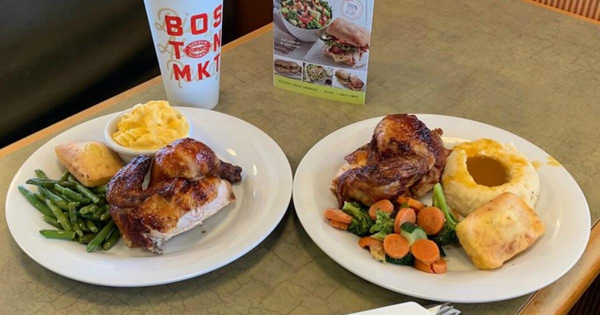 Boston Market Meals