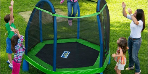 BouncePro My First Trampoline w/ Safety Enclosure Only $129.98 Shipped (Regularly $235)