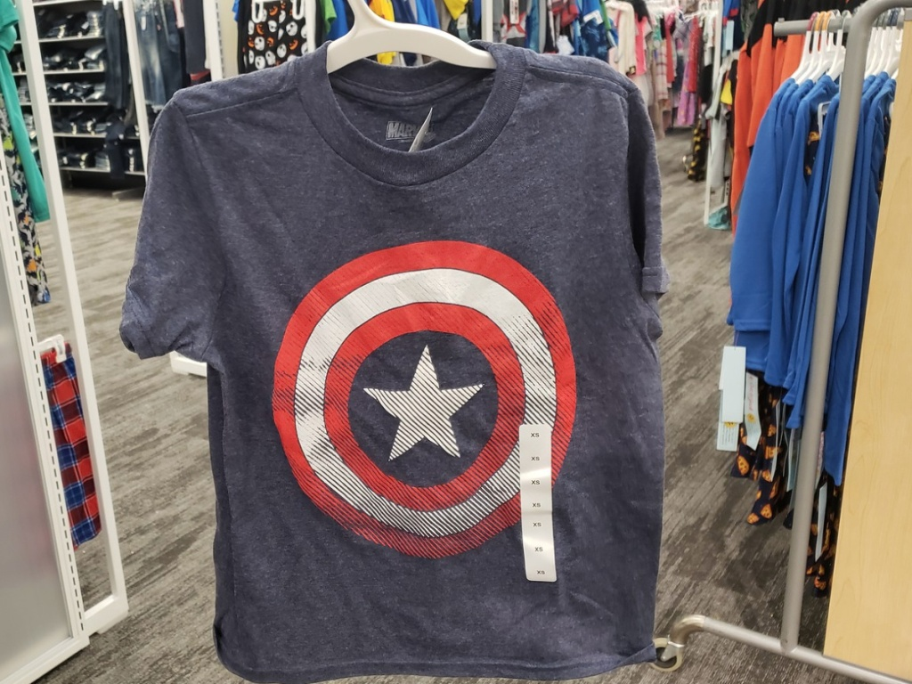 Boys Captain America T-Shirt at Target