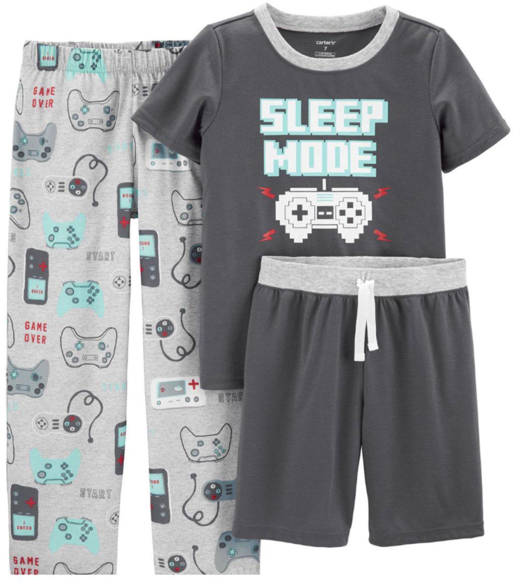 Boys Carter Pajama Sets sleep mode
