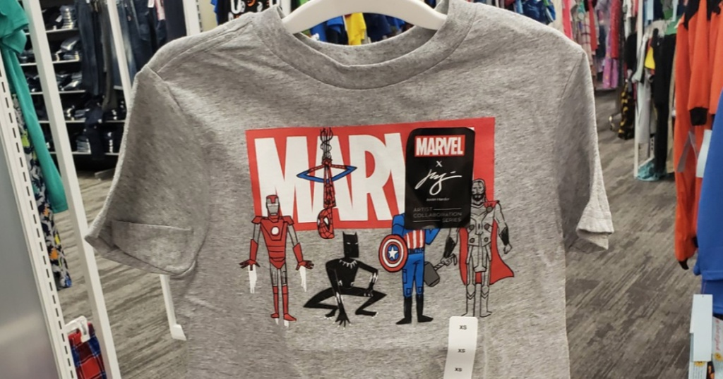 Boys Marvels Avengers T-shirt at Target