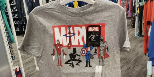 Marvel Boys T-Shirts Only $7 at Target | Avengers, Captain America & More