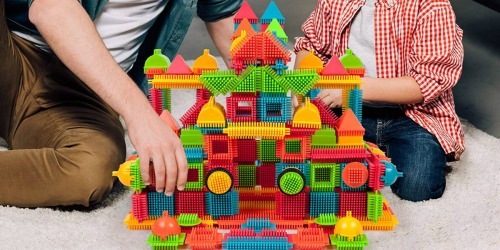 PicassoTiles 240-Piece Bristle Blocks Set Just $29.99 Shipped | Great Gift Idea