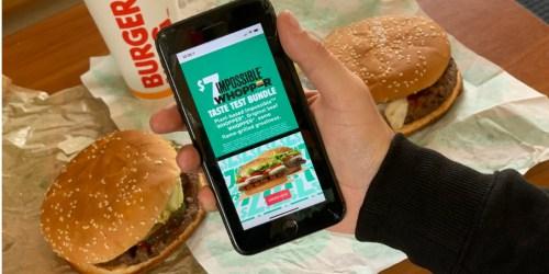 Burger King Taste Test | Plant-Based Impossible Whopper Versus Beef Whopper