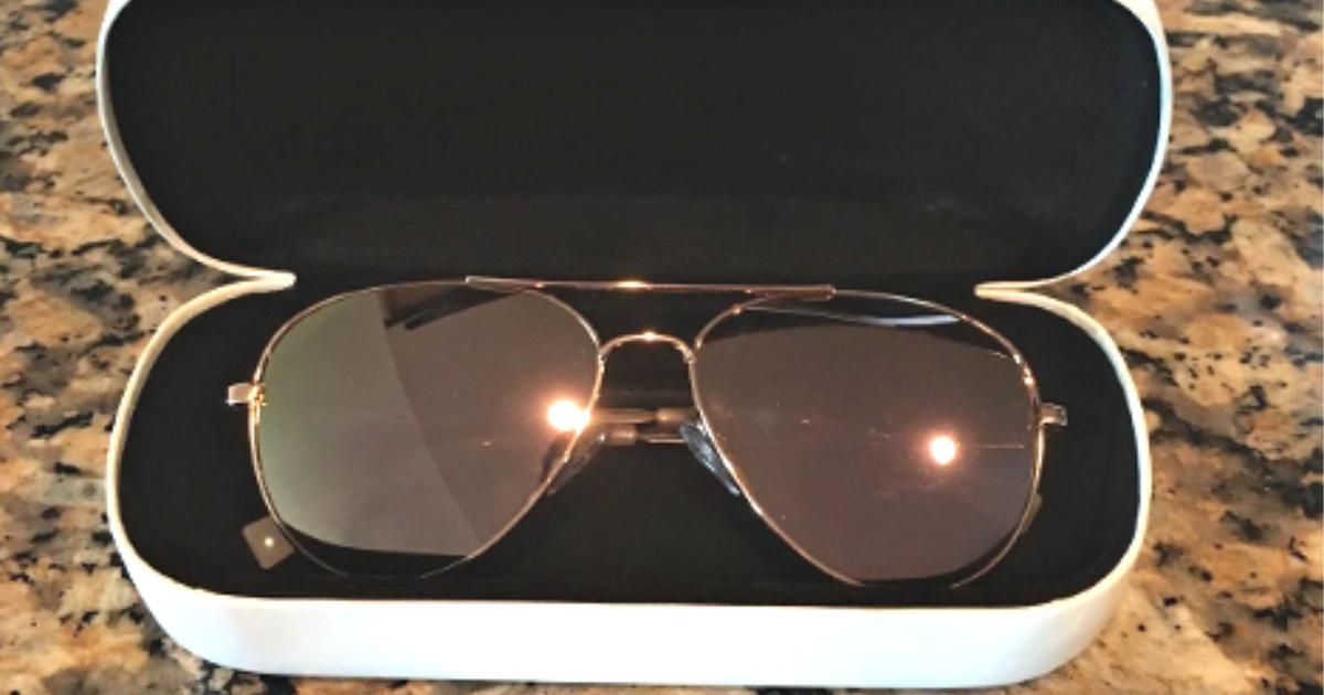 calvin klein sunglasses in case