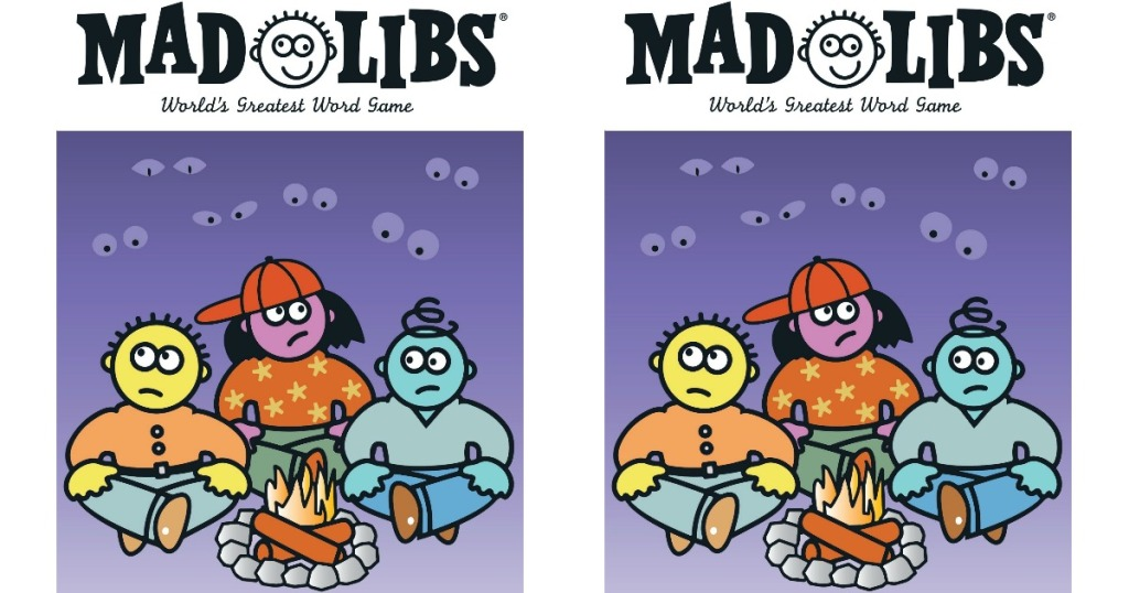 cover of Camp Daze Mad Libs books
