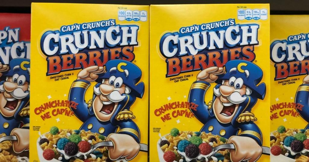 Cap'n Crunch Berries 4-pack