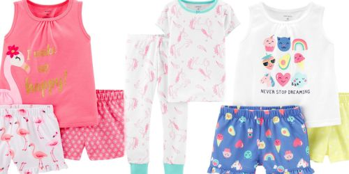Carter's Pajama Set as Low as $4.75 at JCPenney (Regularly $16+)