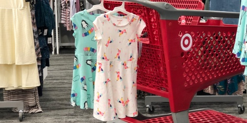 20% Off Cat & Jack Girls Dresses at Target (In-Store & Online)