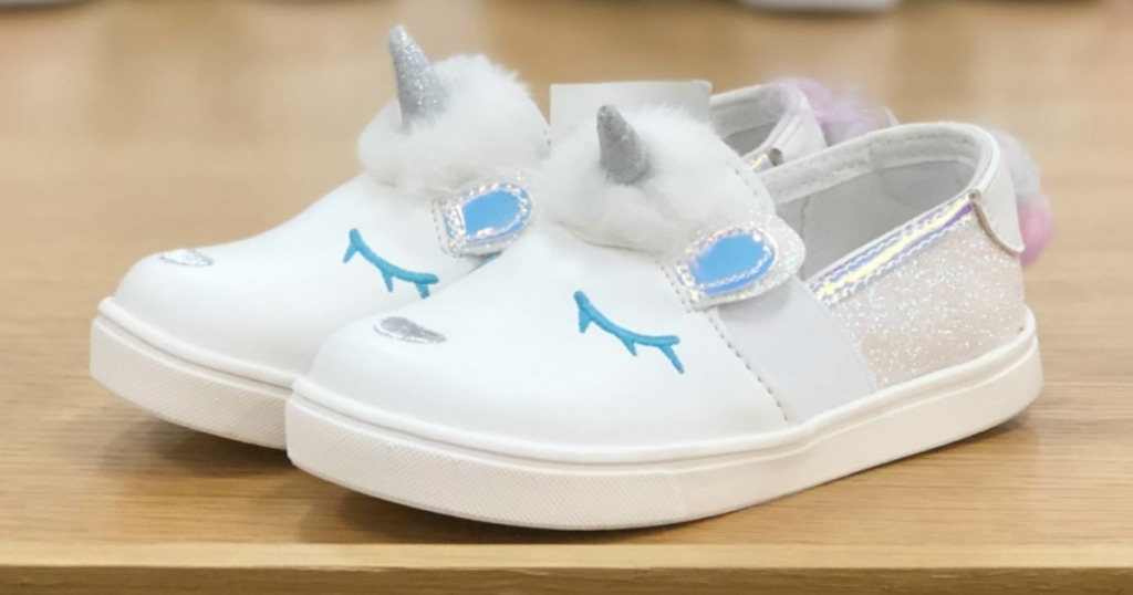 Cat & Jack Toddler Girls Unicorn Sneakers