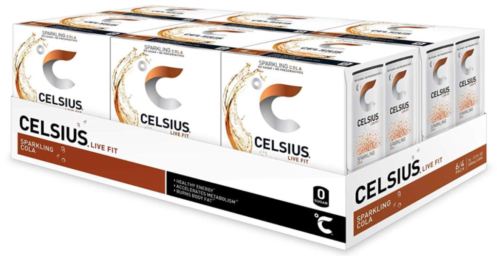 Celsius Sparkling Cola 24-Pack