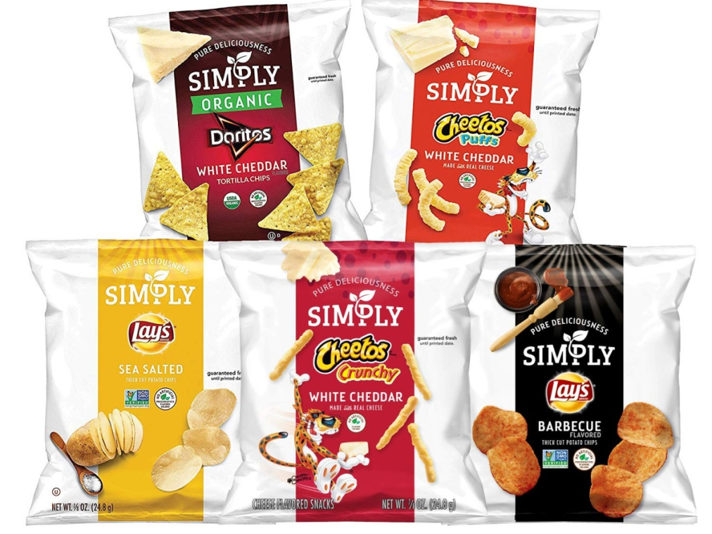 Cheetos and Lay's Simply