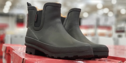 Chooka Ladies Lined Rain Boots Only $19.99 (Regularly $65) at Costco
