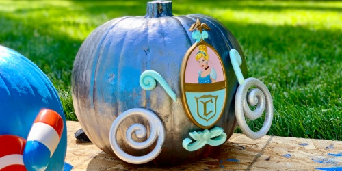 These NEW Disney No-Carve Pumpkin Decorating Kits Are SO Fun & They're Only $10 at Target