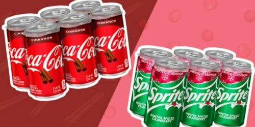 Cinnamon Coca-Cola and Winter Spiced Cranberry Sprite Will Be Spicing Up the Holidays