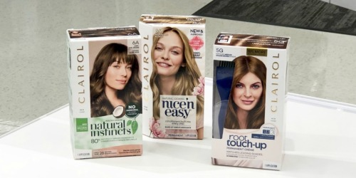 $7 Worth of New Clairol Coupons = 60% Off Hair Color After Walgreens Rewards