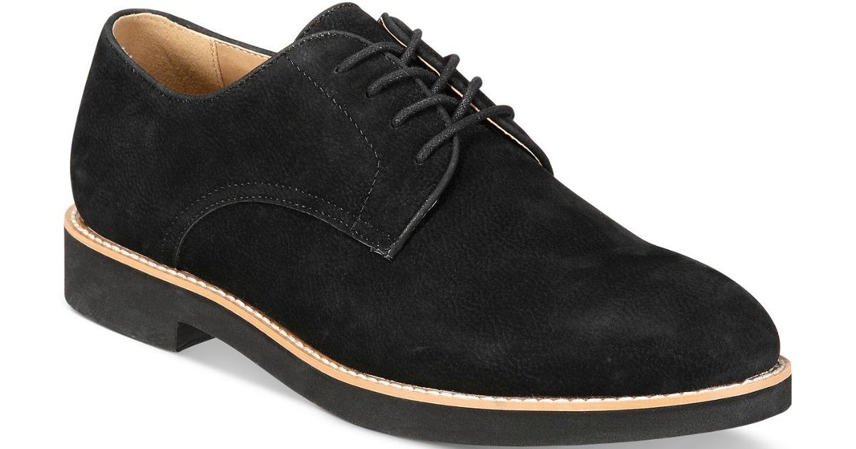 Club Room Men's Shiloh Buck Dress Shoes in black
