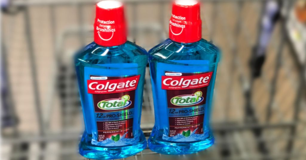 Colgate Total Mouthwash in cart
