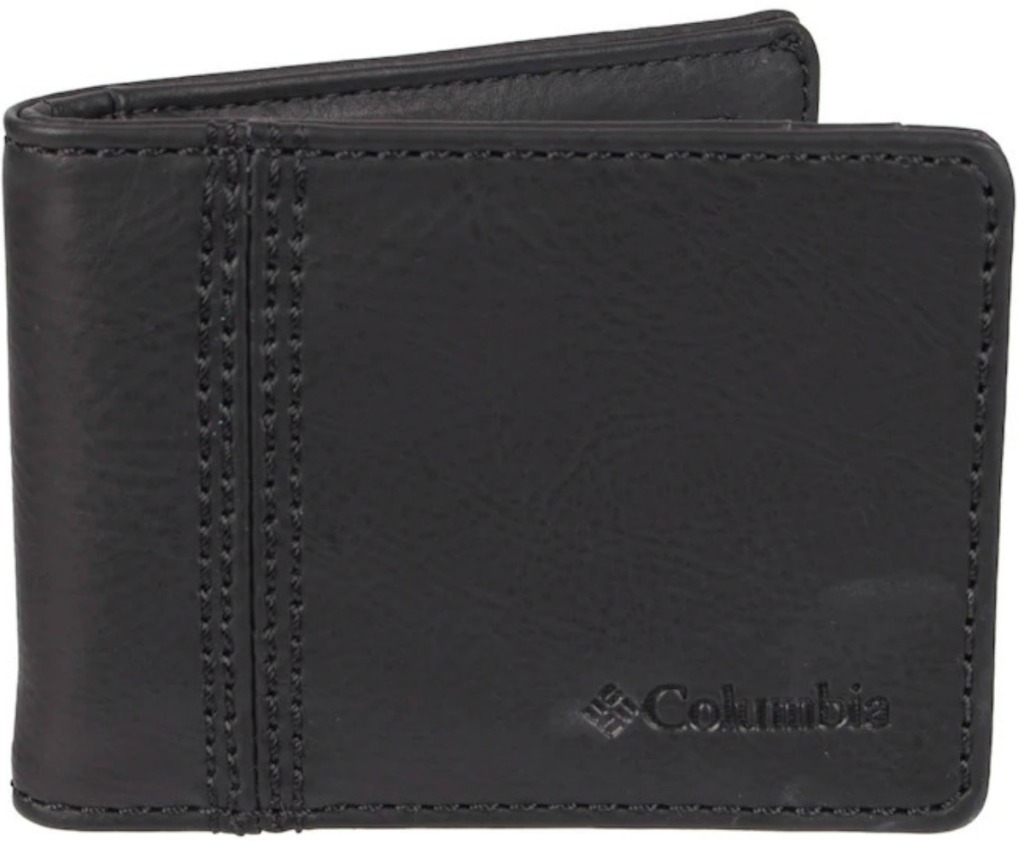 Black Columbia Security Wallet out of the package