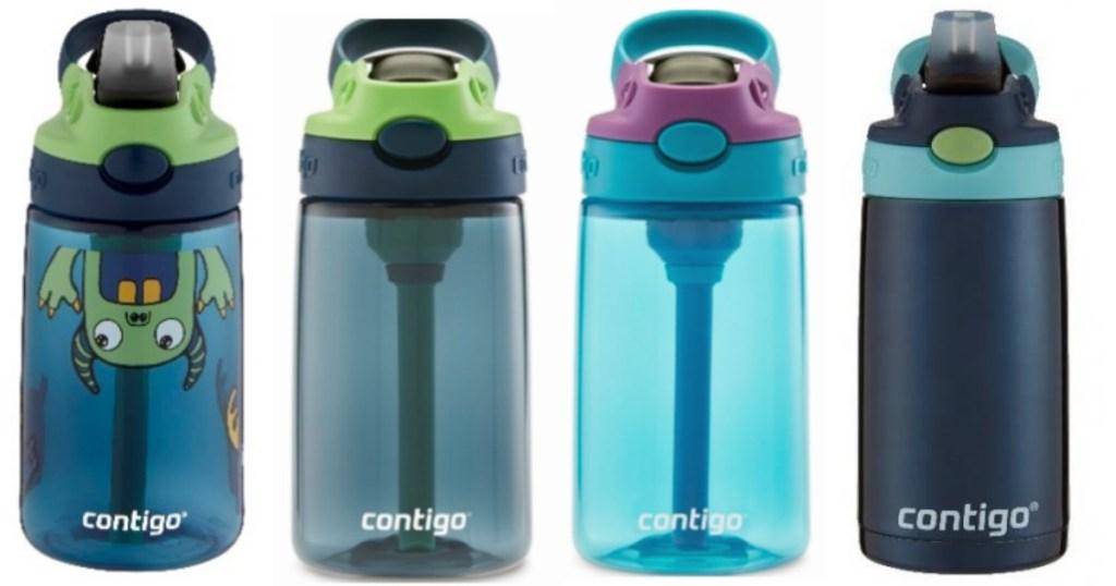 4 Contigo water bottles