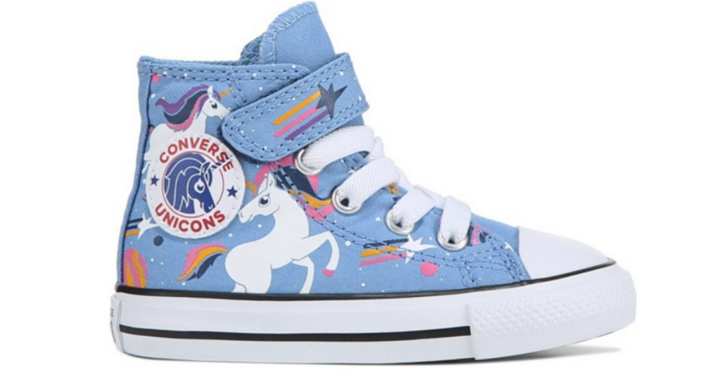 Converse Kids Chuck Taylor All Star High Top Sneakers Blue/Unicorn