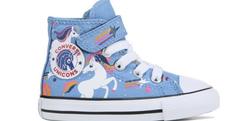 Converse Chuck Taylor Toddler Sneakers as Low as $22-$25 Each Shipped | Unicorns & Dinosaurs