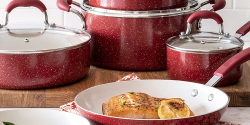 Cooks Speckle 10-Piece Cookware Set as Low as $62.99 at JCPenney (Regularly $180)