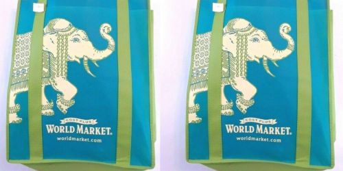 FREE Reusable Tote for Select World Market Rewards Members
