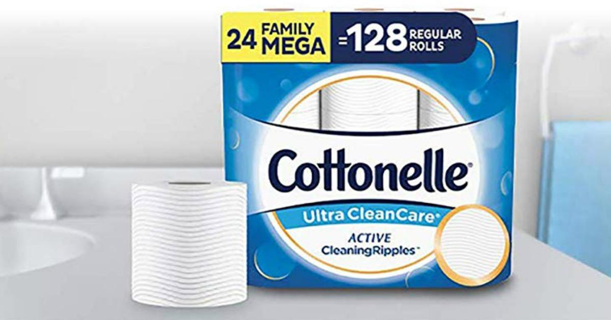 Cottonelle Ultra Cleancare Family Mega Rolls
