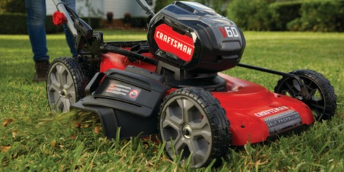 Craftsman Self-Propelled Cordless Electric Lawn Mower as Low as $199.82 at Lowe's (Regularly $569)