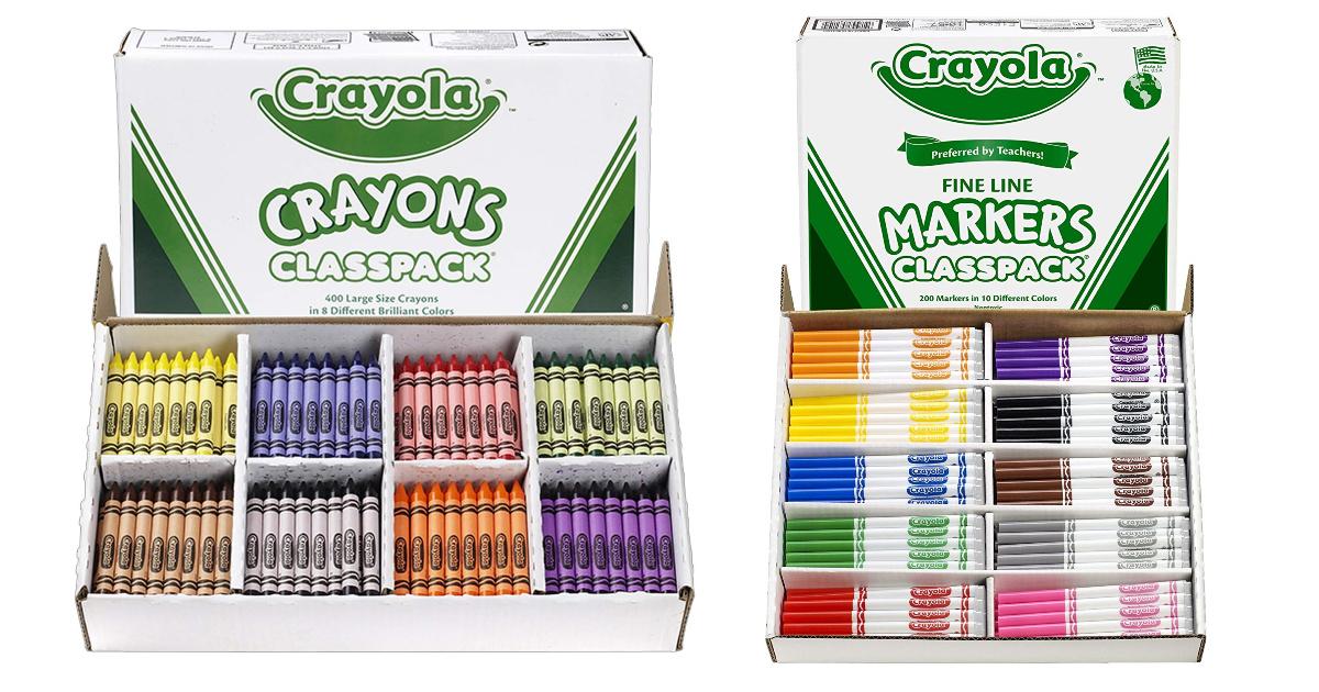 crayola class packs