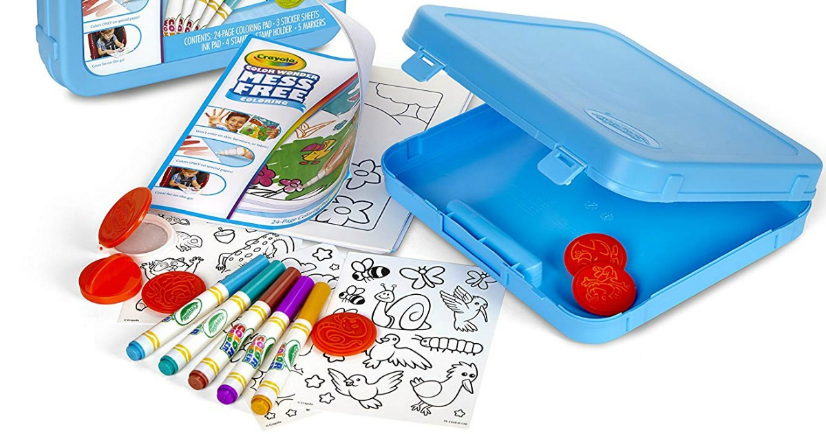 Crayola Color Wonder Mess Free Activity Set Just $8.49 ...