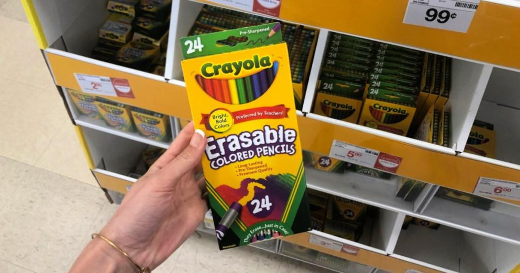 Crayola Erasable Crayons