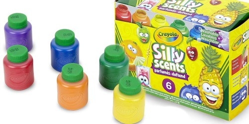 Crayola Silly Scents Washable Kids Paint 6-Pack Just $2.97