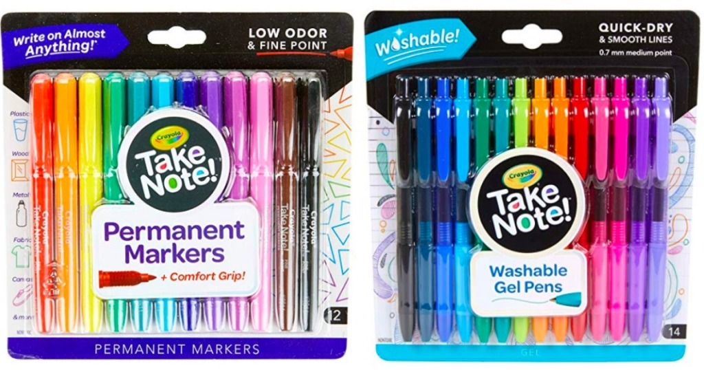 Crayola permanent markers