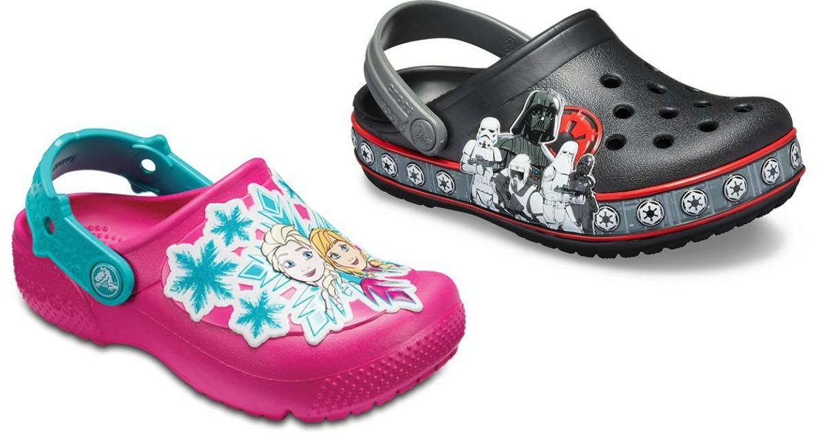 Crocs Frozen or Star Wars