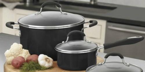 Cuisinart 11-Piece Cookware Set Only $49.99 Shipped (Regularly $200)