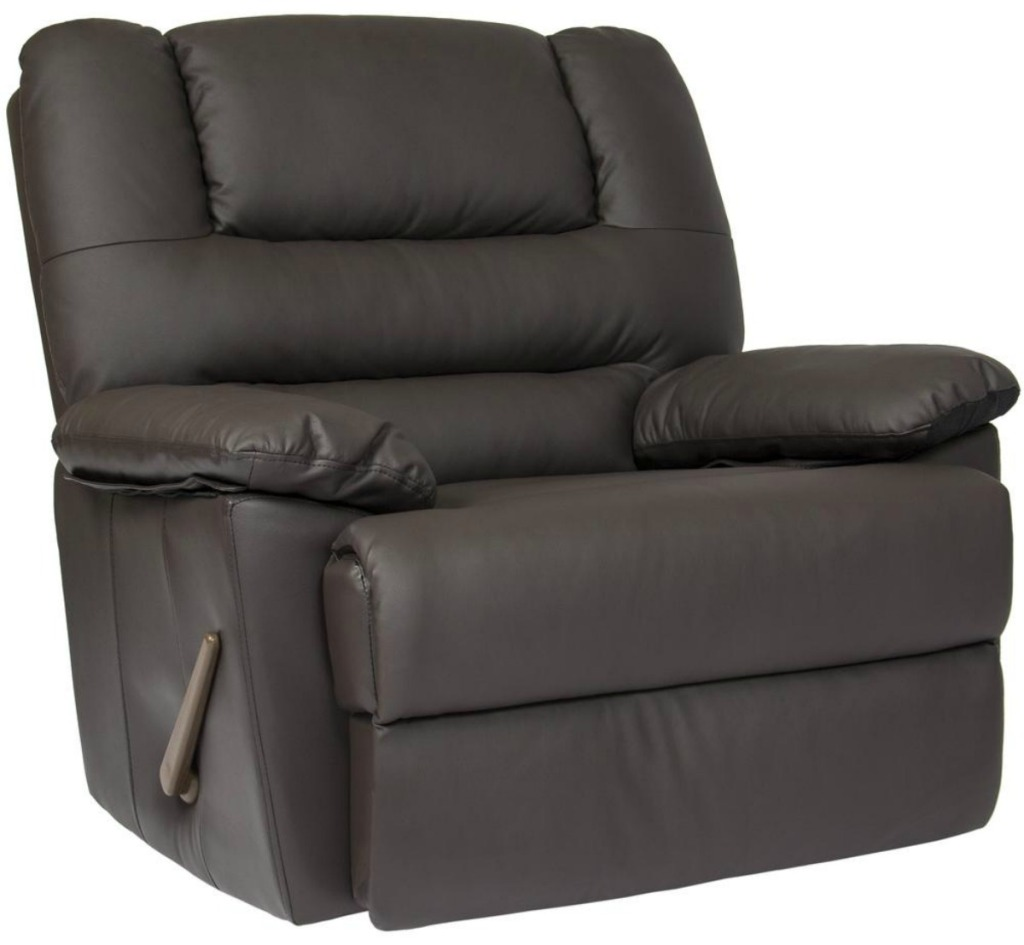 brown rocker recliner chair