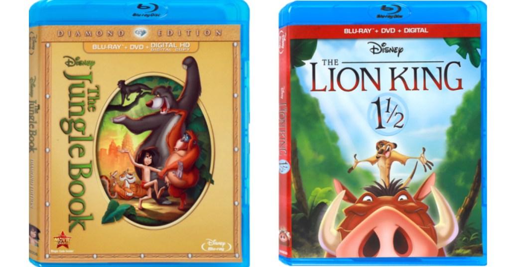 Disney Blu-Ray Dvd's