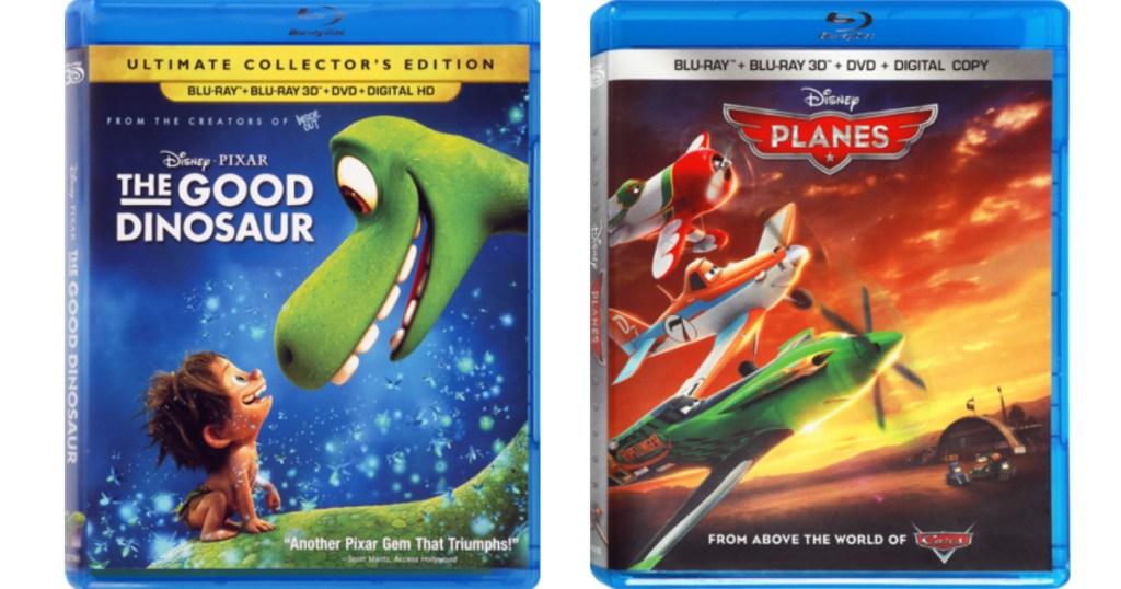 Disney Blu-ray dvds