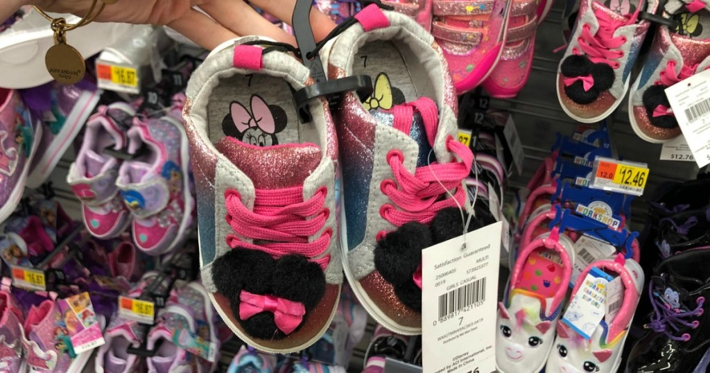 Disney Minnie Shoes at Walmart