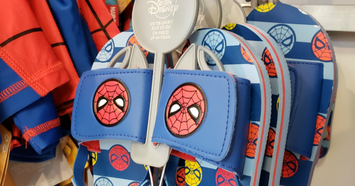 Disney Spiderman Slides