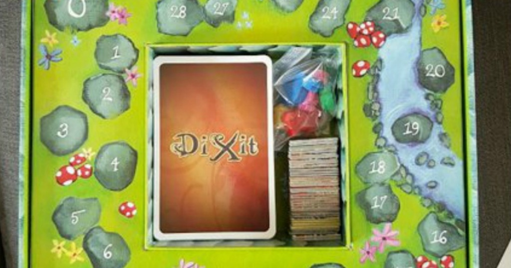Board from Dixit Board game