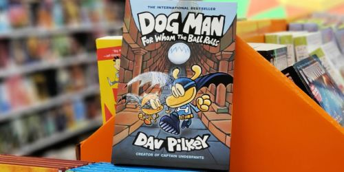Dog Man For Whom the Ball Rolls Hardcover Book Just $5
